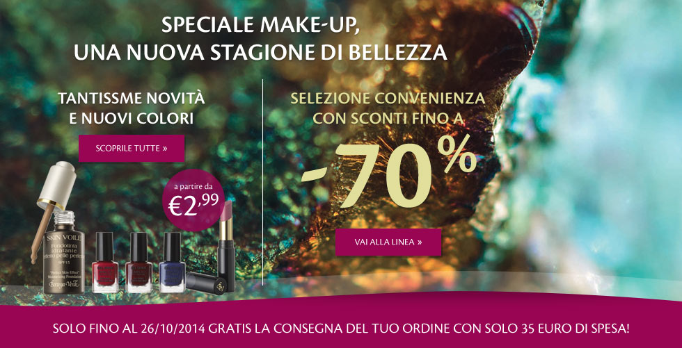 Novità Make-up