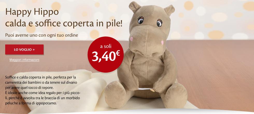 Coperta Happy Hippo