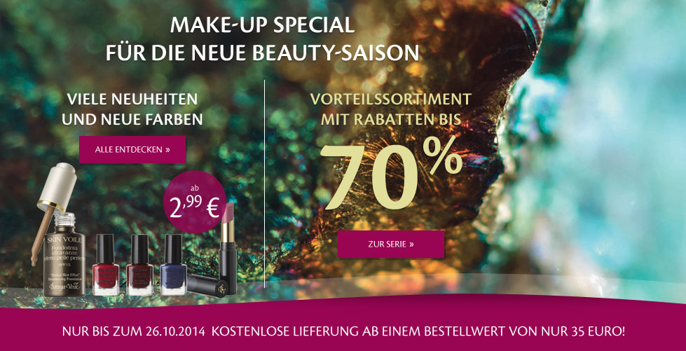 Make-up-Neuheiten