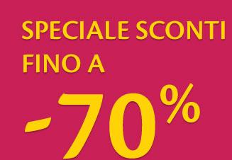 Sconti -70%