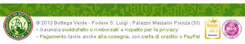 Cosmetici made in Italy a base di principi attivi naturali. Super Garanzia 30 giorni soddisfatti o riborsati. Sicurezza e rispetto della Privacy. Pagamento facile: alla consegna, con carta di credito e PayPal