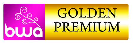 logo premio: Goldem Premium BWA Beauty web Award 2011