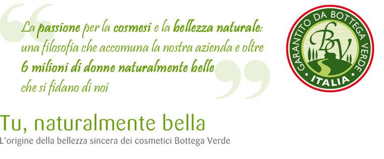 La passione per la cosmesi e la bellezza naturale: una filosofia che accomuna Bottega Verde e oltre 6 milioni di donne naturalmente belle