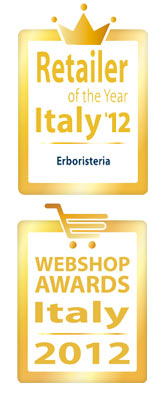 logo premi: Retailer of the Year Italy'12 e Webshop Awards Italy 2012