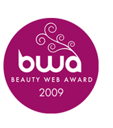 logo premio: BWA Beauty web Award 2009