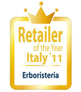 logo premio: Retailer of the Year Italy'11. Erboristeria