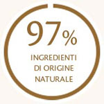 97% ingredienti di origine naturale