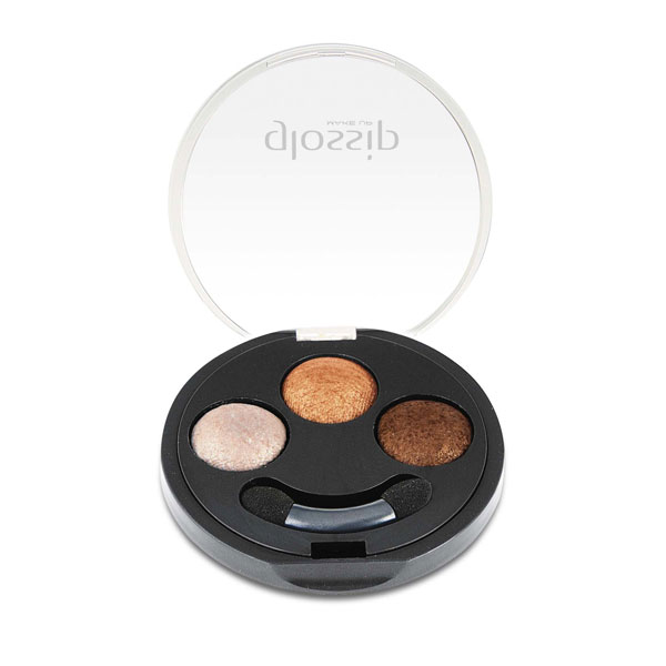 Wet&dry baked Eyeshadow trio pure colour effect